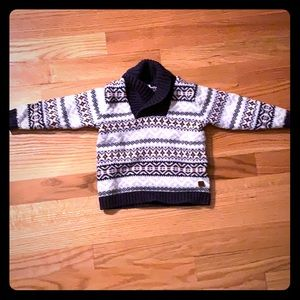 adorable knit janie and jack lightly worn sweater